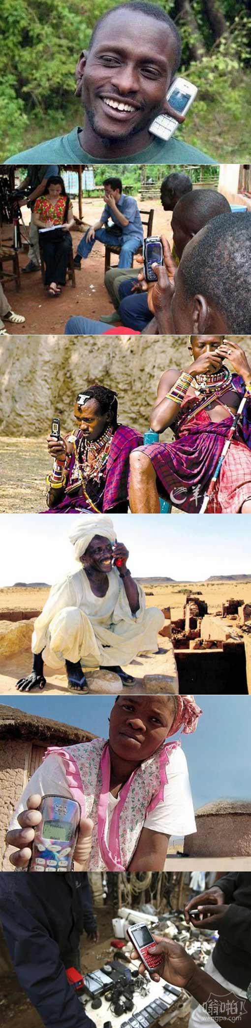 看看非洲人是怎么用手机的:非洲手机市场探秘 山寨机退出品牌吃香