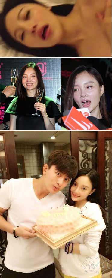 贾乃亮爆粗口回应疑似李小璐不雅视频 女主角真实身份为广告模特林娜冰