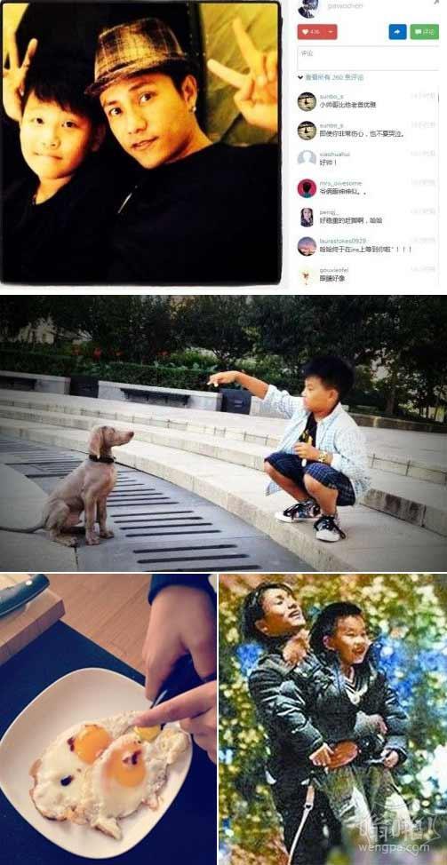 陈坤晒12岁儿子优优近照 网友猜测陈坤儿子生母是谁 至今成迷