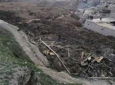 阿富汗东北部山体滑坡至少350人死 2500人失踪