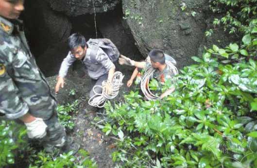 男子探洞被困200米深洞穴 获救后表示不会停止探洞