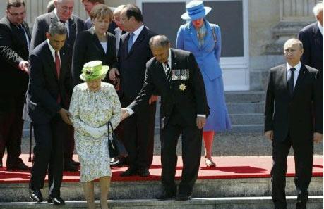一张图概括普京和西方各国的关系