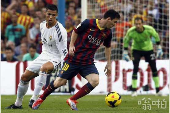 世界现预足球运动员最贵身价排行 梅西身价2倍C罗