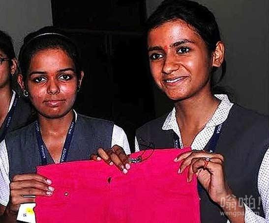 印度高科技女生防强奸牛仔裤 售价约合人民币3.5元