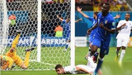 巴神头槌破门,意大利2-1英格兰