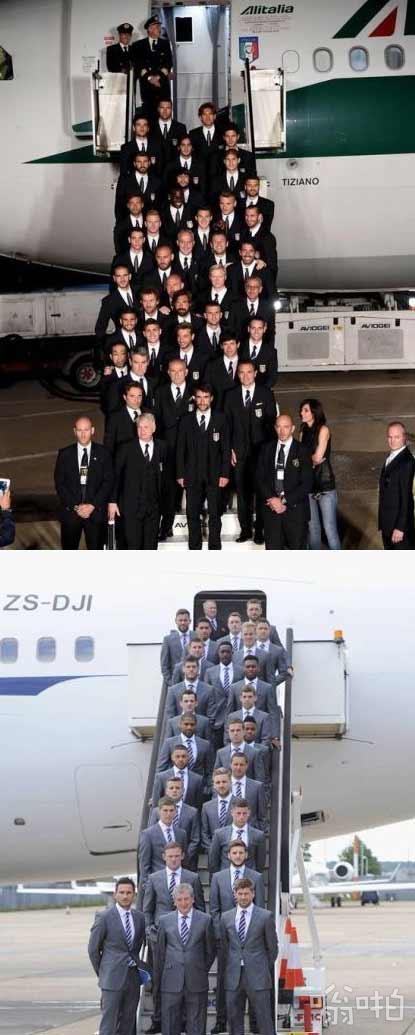 意大利男模队&英国男模队 出征世界杯!