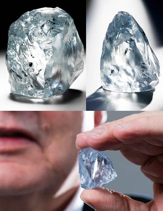 世界最大钻石 122克拉的钻石,可以卖到6000万英镑