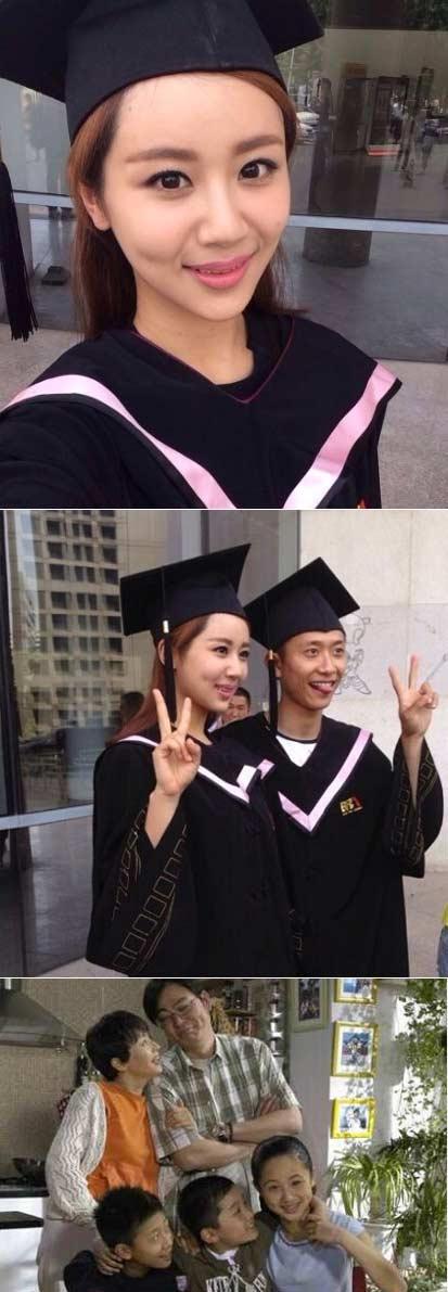 时间都去哪了:#小雪刘星毕业了# 你还记得他们吗?