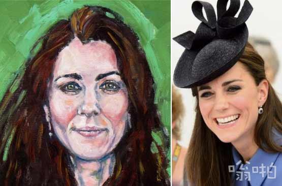 不知名艺术家油画描绘凯特肖像获凯特和威廉喜爱,计划挂在肯辛顿宫