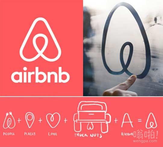 短租网站Airbnb新logo在社交网站twitter上遭嘲笑 像人体解剖的一部分