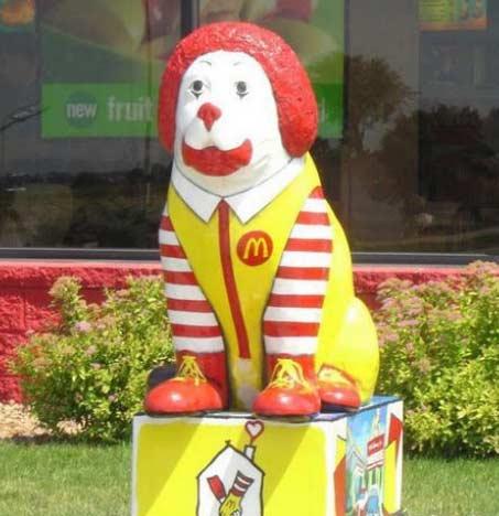 麦当劳叔叔你这是肿么了