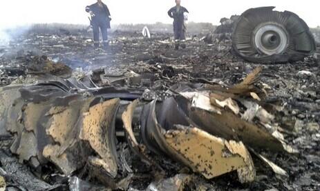 马航客机MH17在乌俄靠近亲俄边境被击