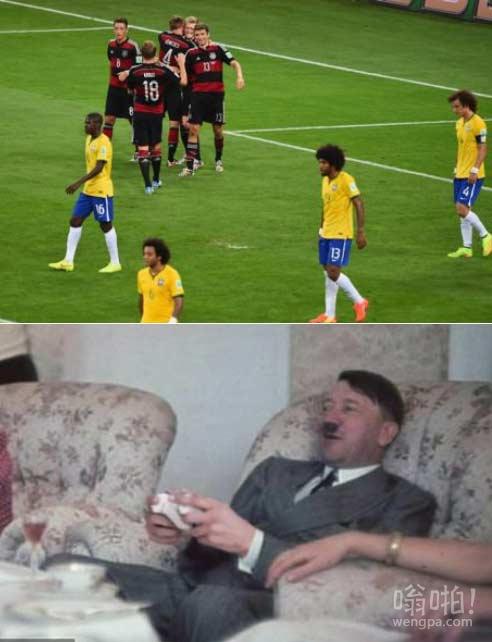 有人玩幕后巴西对阵德国
