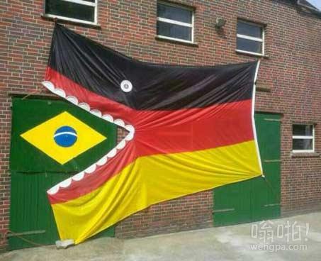 巴西与德国的世界杯比赛