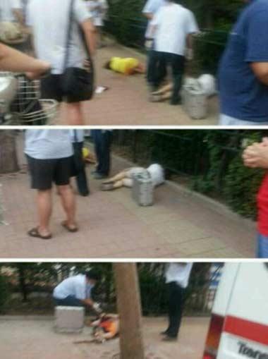 济南街头一男子刺死女友及两名同事 疑为感情纠纷