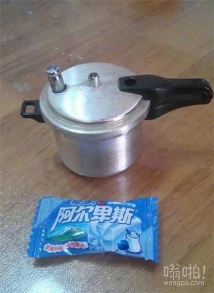淘宝买了套刀,老板说,送我个高压锅!