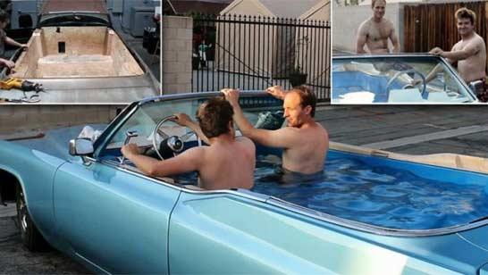你的移动的凯迪拉克热水浴缸