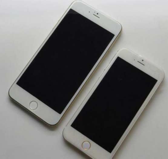 iphone6和iphone5对比图 屏幕变大