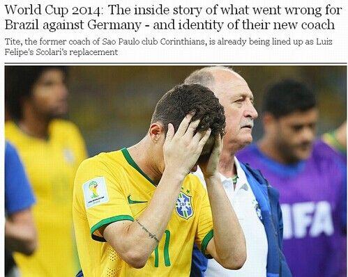 巴西惨败内幕:主帅斯科拉里赛前6小时做出荒唐决定