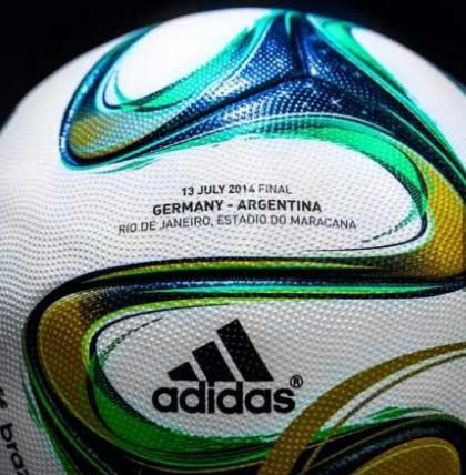 巴西世界杯决赛用球,不能等了