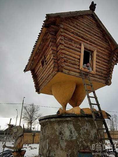 这屋子看上去有点不牢靠