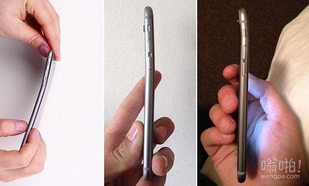新的iPhone 6放在你的口袋后会有什么结果