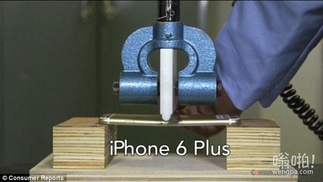 苹果iPhone6 Plus是不是作为柔韧的第一个念头:压力测试显示手机可以承受更多的压力(视频)