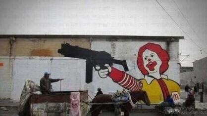 KFC一定在对面