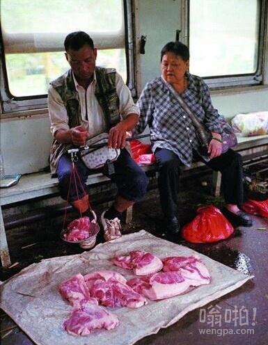 快来买了 新鲜的猪肉