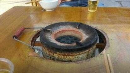 同事说天凉了请我吃火锅