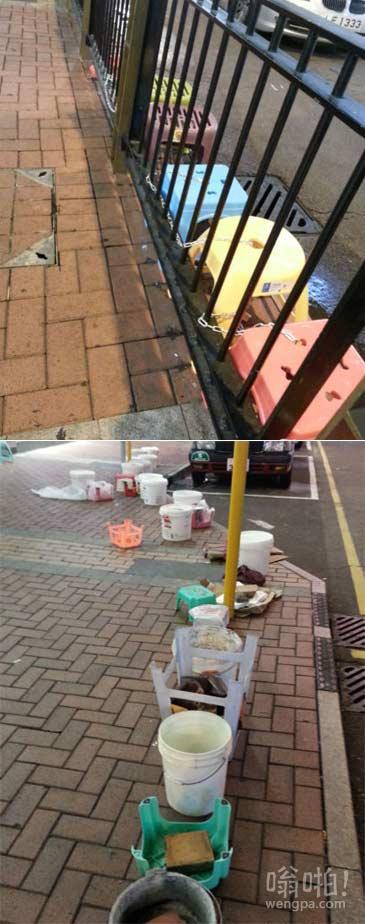 台风再大 也吹不走香港果粉的热情
