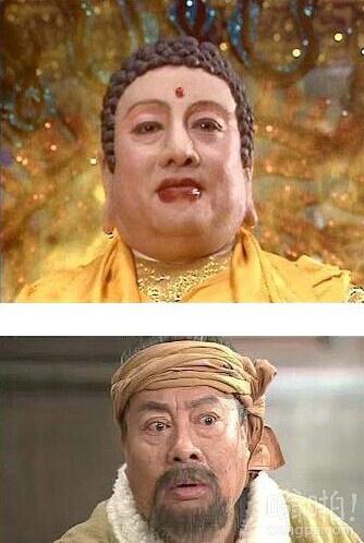 《武林外传》里佟湘玉的爹竟然是《西游记》里面的如来。。。