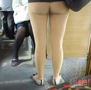 原来打底裤是这么穿才好看