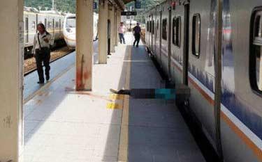 站台工作人员让你站在黄线内别闲人家烦:台湾男子疑月台探头看火车遭当场撞死