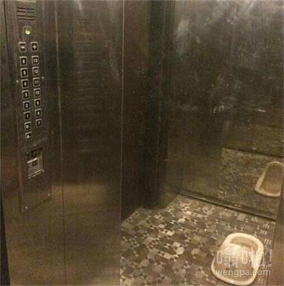 电梯们一打开,我晕了