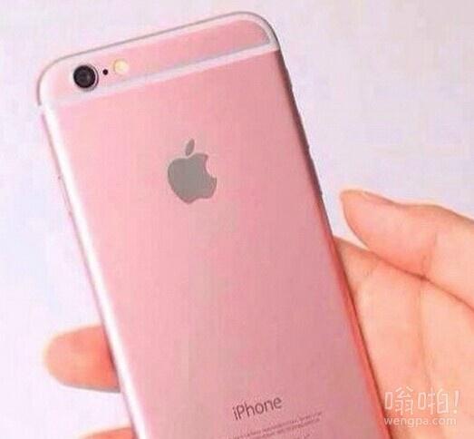 粉色版iPhone 6真机曝光 粉嫩机身限量定制 粉色控妹子绝对无法招架
