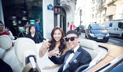 孙红雷和女友王骏迪巴黎大婚 结束七年爱情长跑