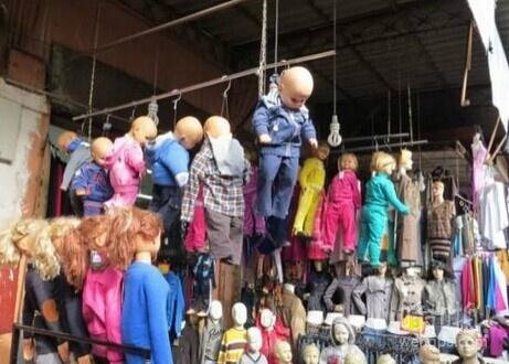 卖童装的也这么吓人