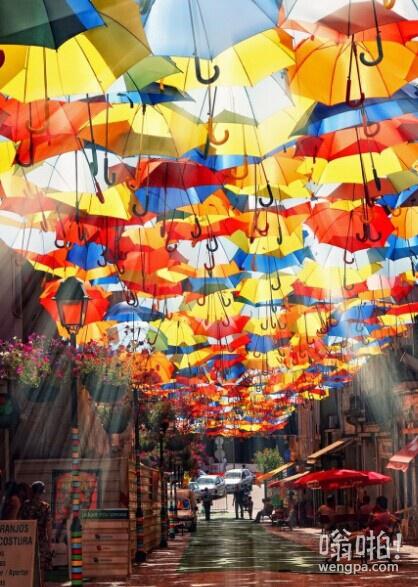 在葡萄牙阿格达街头
