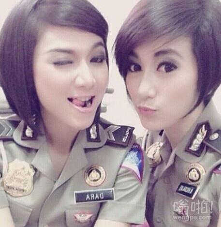 印尼女警察