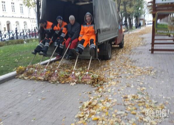 莫斯科街道清洁