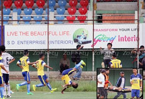 印度球员模仿德国球星克洛泽空翻头着地不幸摔死