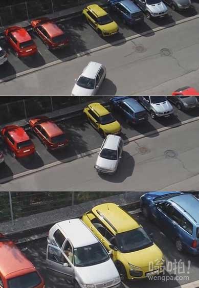 女司机停车爆笑视频