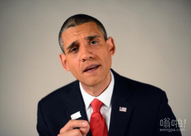 山寨版奥巴马世界巡演 靠模仿收入可观