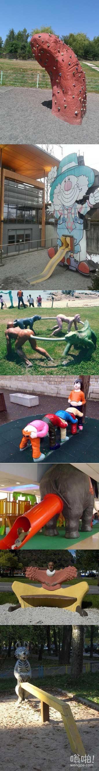 国外那些毁三观的儿童游乐园