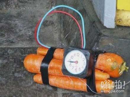 自制炸药包,在地铁上被保安轰出来了
