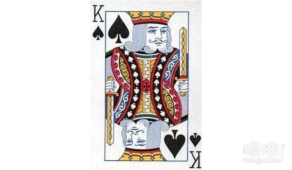 你玩了这么多年扑克,知道黑桃 K 是谁吗?