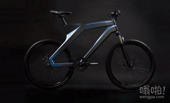 百度推DuBike智能自行车 GPS定位带防盗功能