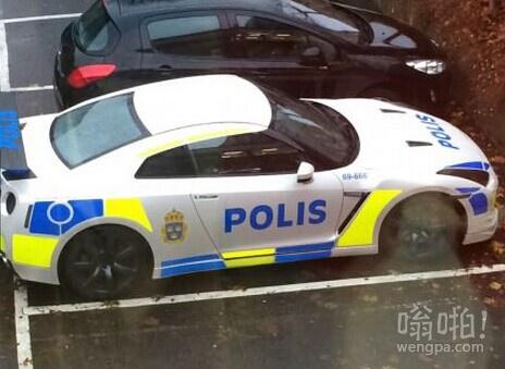 瑞典哥德堡新的警车