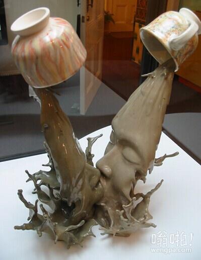惊人的粘土作品